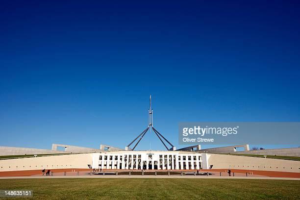 Parliament of Australia on Capital Hill.