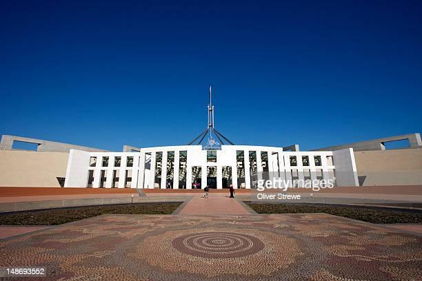 Parliament of Australia on Capital Hill