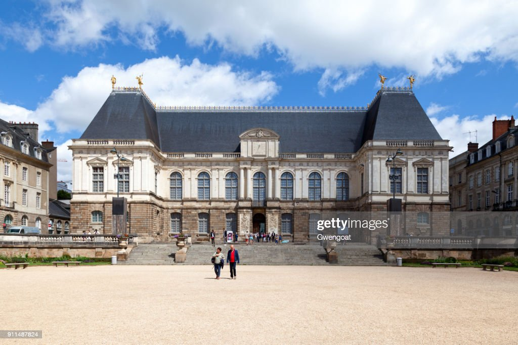Parlement De Bretagne In Rennes High Res Stock Photo Getty Images