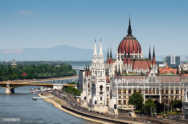 Parliament on Danube river