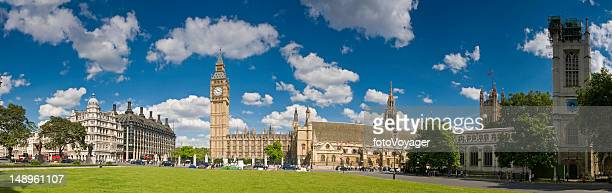 parliament square london - whitehall london stock photos and pictures