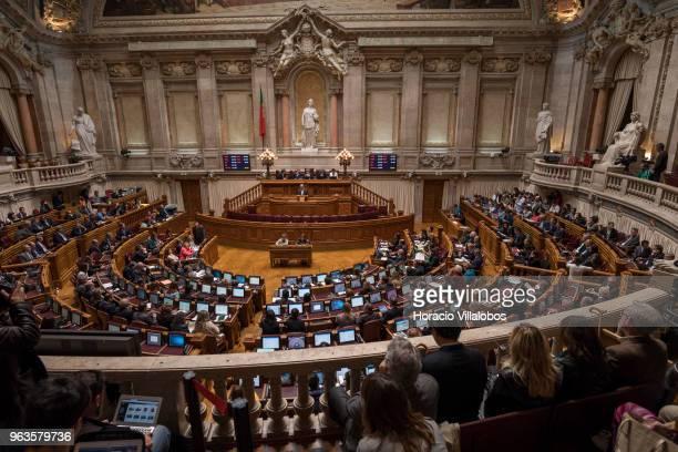 Parliament's debate on euthanasia legislation at the Portuguese Parliament on May 29 2018 in Lisbon Portugal The Assembleia da Republica debates...