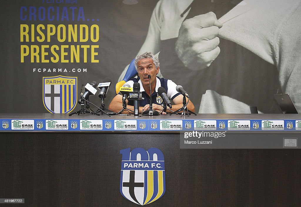 FC Parma Training Session & Press Conference
