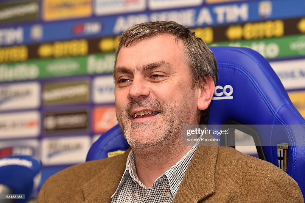 Parma FC Press Conference : News Photo