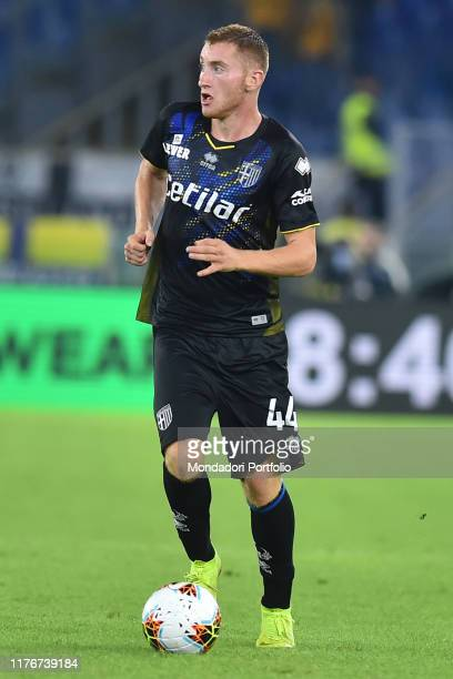 Parma football player Dejan Kulusevski during the match LazioParma in the Olimpic stadium Rome September 22th 2019