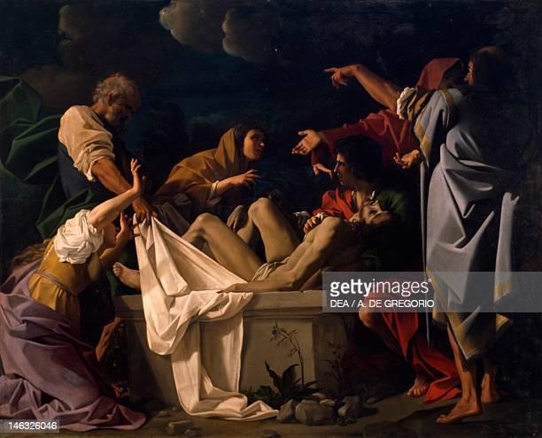 Parma Galleria Nazionale Palazzo Della Pilotta The burial of Christ by Bartholomew Schedoni