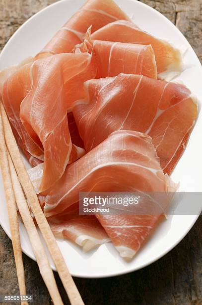 Parma ham with grissini