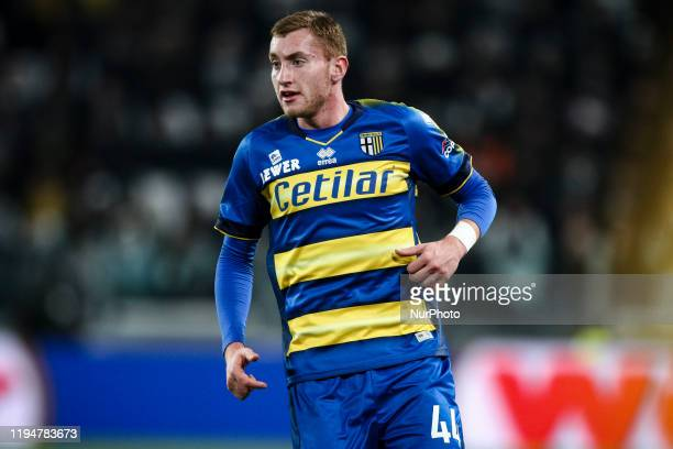 Parma midfielder Dejan Kulusevski in action during the Serie A football match n20 JUVENTUS PARMA on January 19 2020 at the Allianz Stadium in Turin...