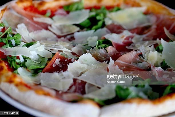 Parma Pizza is pictured at Cibo Matto in Mansfield MA on Aug 20 2015