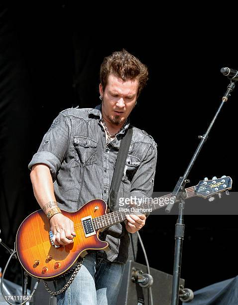Parmalee performs at Country Thunder Twin Lakes Wisconsin Day 2 on July 19 2013 in Twin Lakes Wisconsin