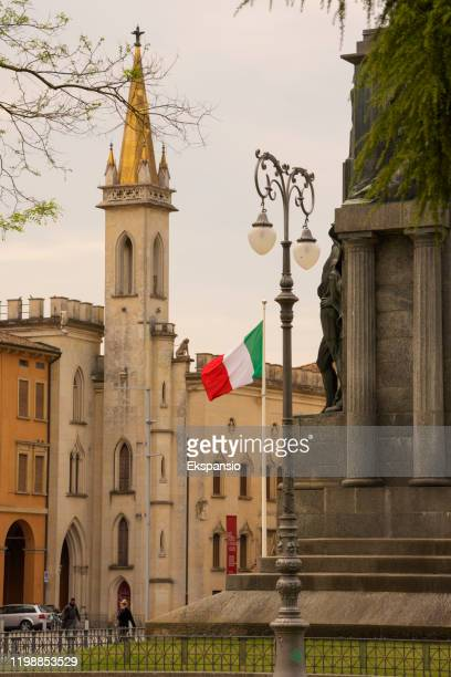 galleria parmeggiani in reggio emilia - reggio emilia stock pictures, royalty-free photos & images