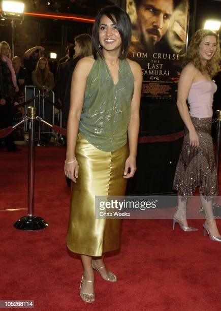 Parminder Nagra during 'The Last Samurai' Los Angeles Premiere at Mann's Village Theater in Westwood California United States