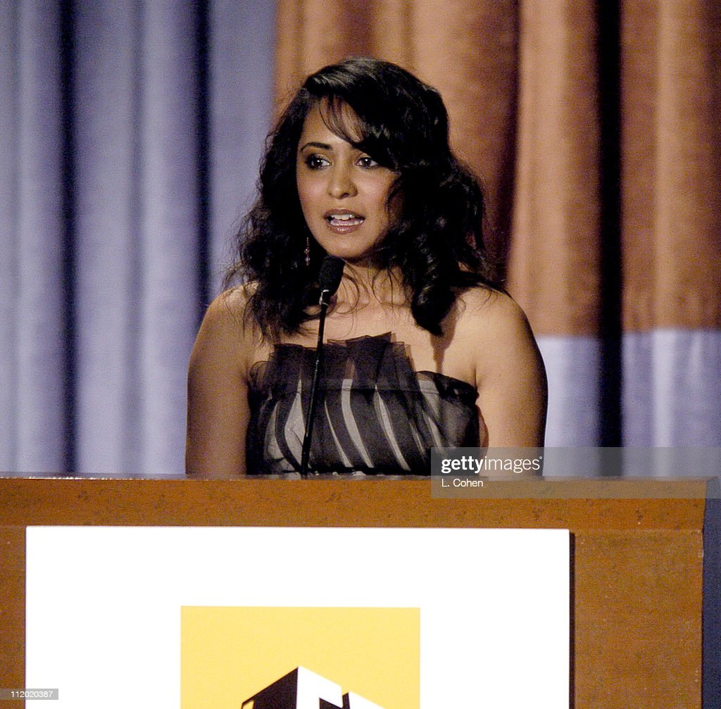 Parminder Nagra presenting the Breakthrough Actress Award