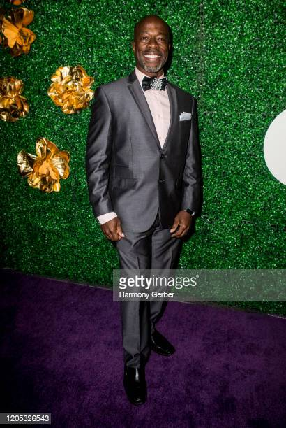 Parnell Damone Marcano attends the 3rd Annual Griot Gala Oscars After Party 2020 Hosted By Michael K. Williams at Ocean Prime on February 09, 2020 in...