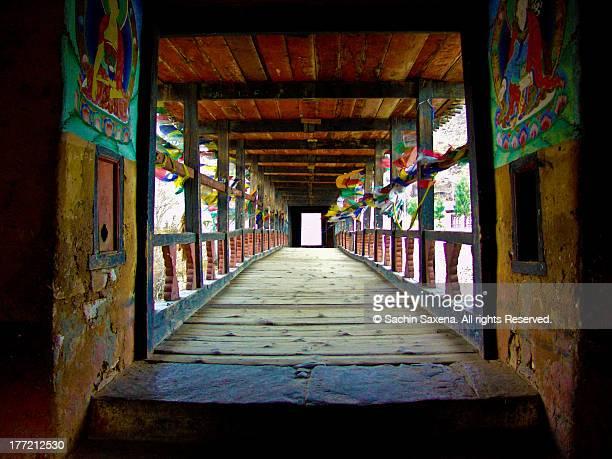 Paro Dzong (Fort), Bhutan