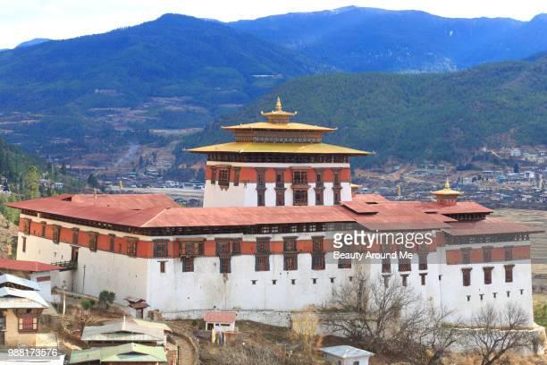 Paro Dzong (castle and monastery), Bhutan.