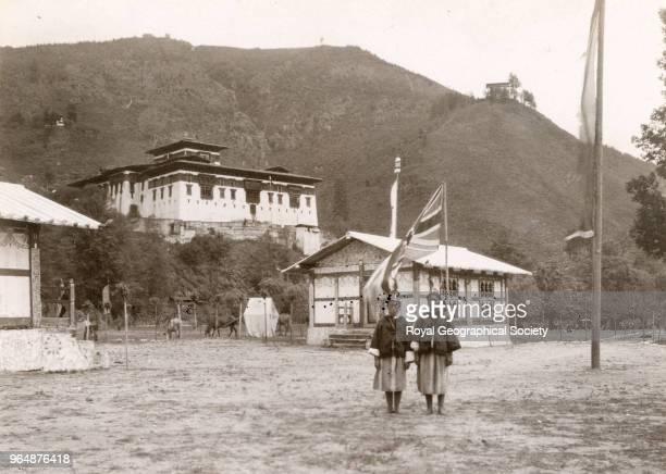 The Political Officer's Camp Bhutan 1922