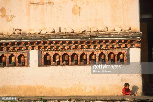paro village - paro district stock pictures, royalty-free photos & images