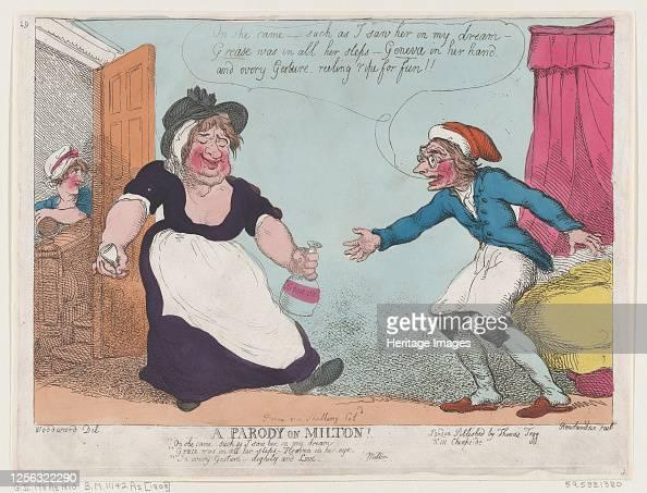 A Parody On Milton 1807 Artist Thomas Rowlandson News Photo Getty Images
