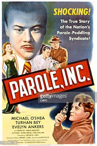 Parole poster INC Evelyn Ankers Turhan Bey Michael O'Shea 1948