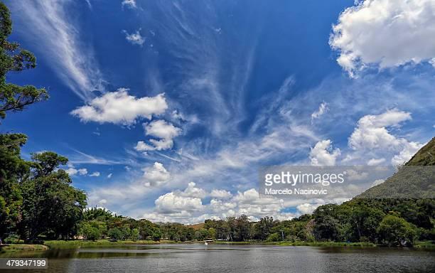 Parque das Águas de Caxambu em Minas Gerais