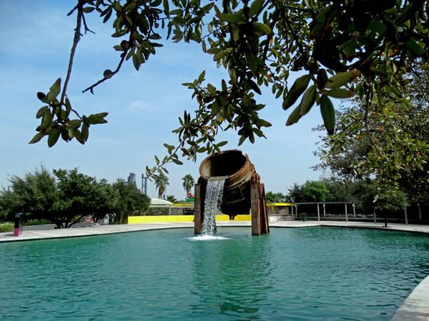 Parque Fundidora agua