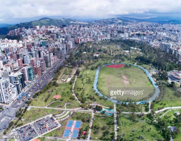 Parque La Carolina, Central Public Park, Quito, Ecuador