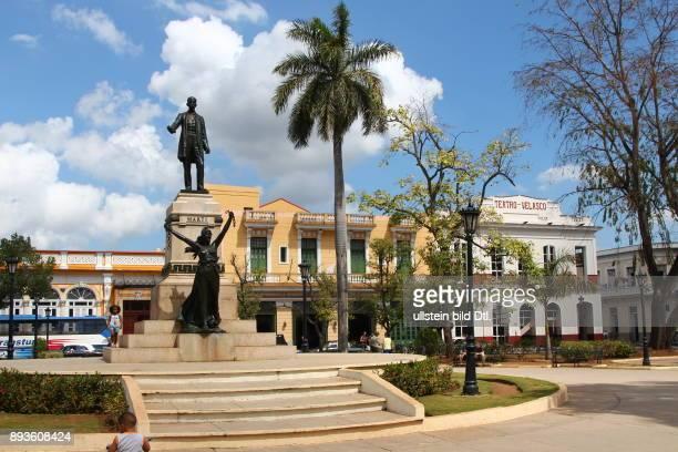 Parque Libertad Freiheits Park Matanzas ist die Hauptstadt der gleichnamigen Provinz in Kuba Cuba Urlaub Republica de Cuba Republik Kuba Karibik