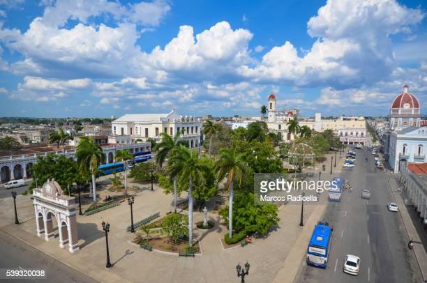 Parque Martí, main square at Cienfuegos city, Cuba.