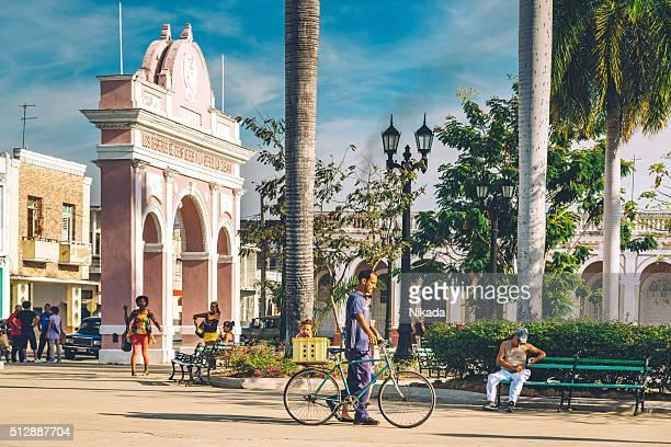 Parque Marti in Cienfuegos in Cuba