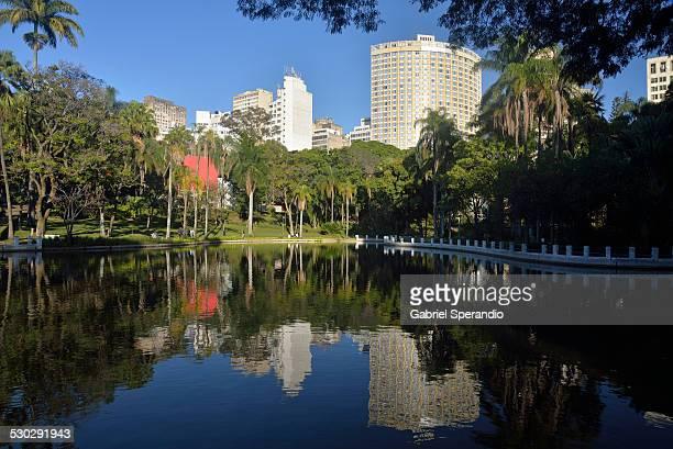 parque municipal - belo horizonte stock pictures, royalty-free photos & images