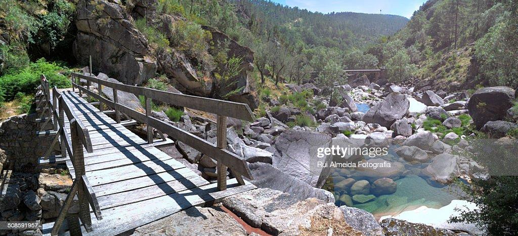 Parque Nacional da Peneda-Gerês : Foto de stock