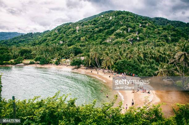 parque nacional tayrona. colombia. - south america stock pictures, royalty-free photos & images