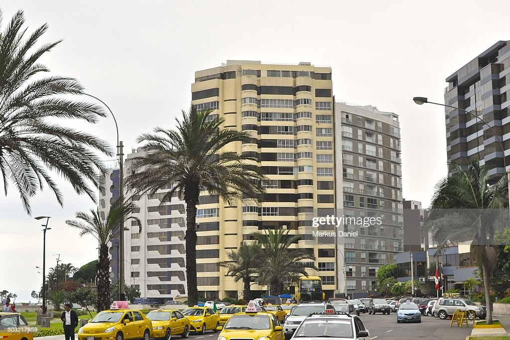 Parque Salazar in Miraflores, Lima, Peru : Stock Photo