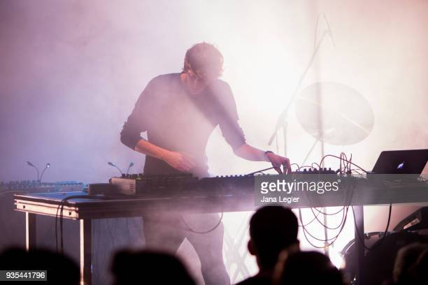 Parra for Cuva in support of George FitzGerald performs live on stage during a concert at Schwuz on March 20 2018 in Berlin Germany