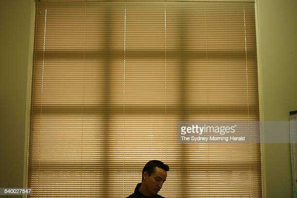 Parramatta Eels' coach Jason Taylor in his office 3 August 2006 SMH SPORT Picture by STEVE CHRISTO