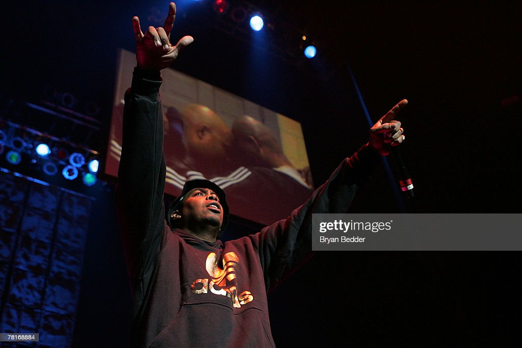 Parrish Smith of the group EPMD performs onstage at the 2007 J.A.M. awards and concert at Hammerstein Ballroom on November 29, 2007 in New York City.
