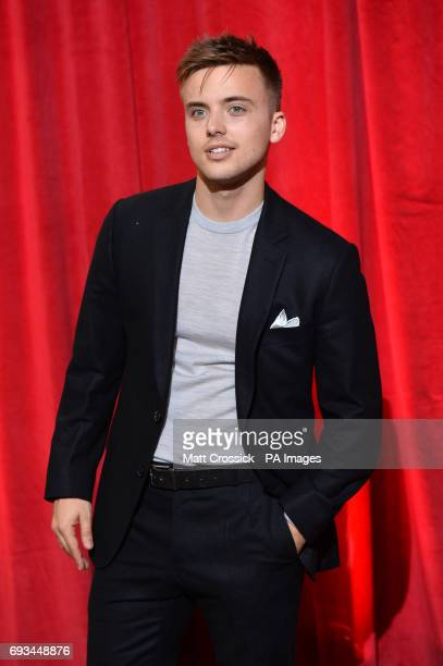 Parry Glasspool attending the British Soap Awards 2017 at The Lowry Salford Manchester PRESS ASSOCIATION Photo Picture date Saturday 3 June 2017 See...