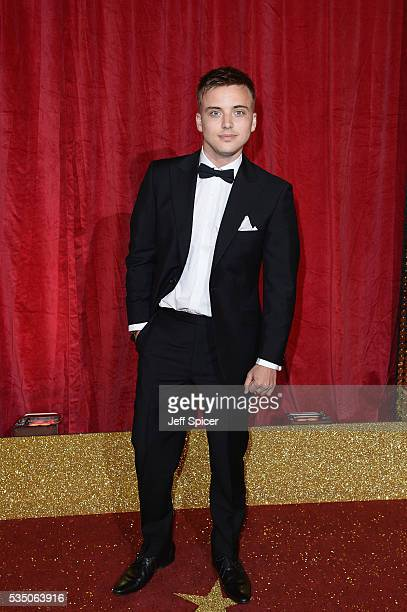 Parry Glasspool attends the British Soap Awards 2016 at Hackney Empire on May 28 2016 in London England