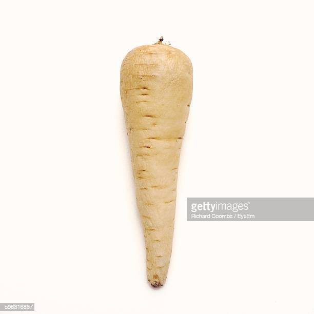Parsnip On White Background