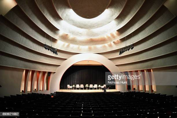 Parsons The Auditorium Alvin Johnson/JM Kaplan Hall the venue for the TOPSHOP The Business of Fashion Host Inside the Industry on June 7 2017 in New...