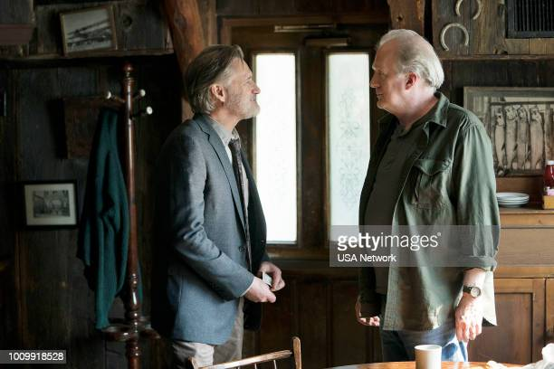 THE SINNER Part I Episode 201 Pictured Bill Pullman as Detective Lt Harry Ambrose Tracy Letts as Jack