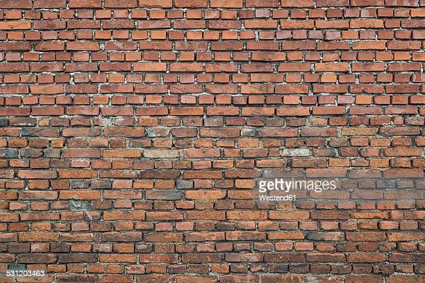 part of a brick wall - brick stock pictures, royalty-free photos & images