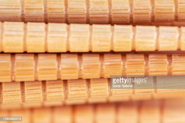 part of a bunch of bamboo sticks - dorte fjalland fotografías e imágenes de stock