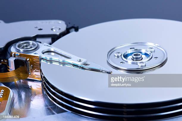 part of a open harddisk