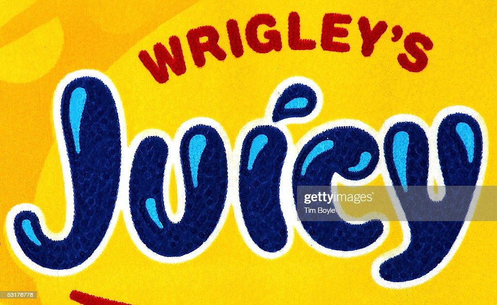 Part of a package of Wrigley's Juicy Fruit chewing gum is photographed June 30, 2005 in Des Plaines, Illinois. Chicago-based Wm. Wrigley Jr. has said it will close its 94-year-old factory in Chicago that produces the company's chewing gum, effecting close to 600 workers, after its acquisition of Kraft Foods' Life Savers and Altoids brands June 29.