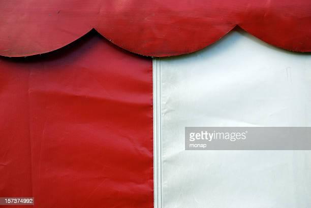 parte di una tenda - tendone di circo foto e immagini stock
