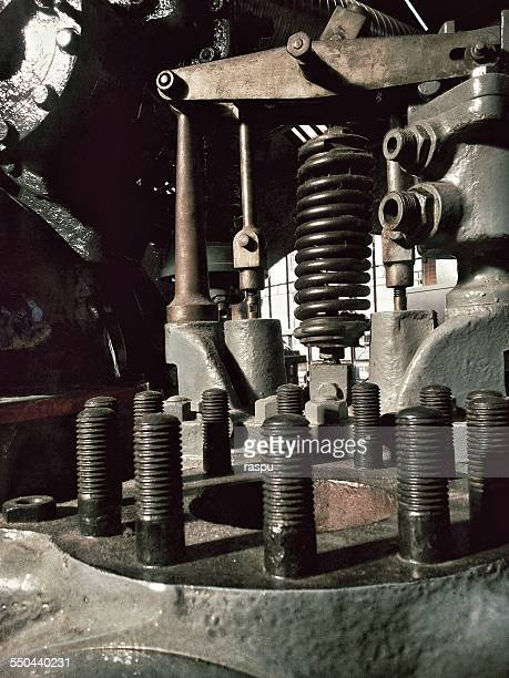 Part of an old machinery