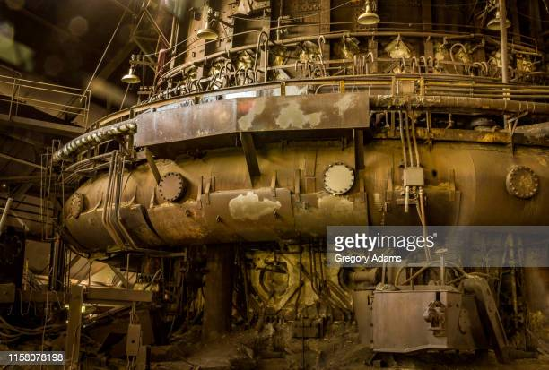 part of an old pennsylvania iron mill - steampunk stock pictures, royalty-free photos & images