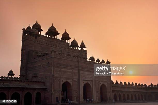 part of jama mosque, agra - old delhi stock pictures, royalty-free photos & images